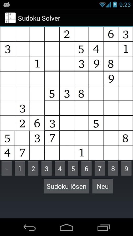 das schwierigste sudoku der welt