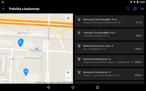 Tatra banka- screenshot thumbnail