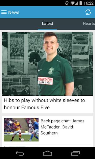 Edinburgh News Football App
