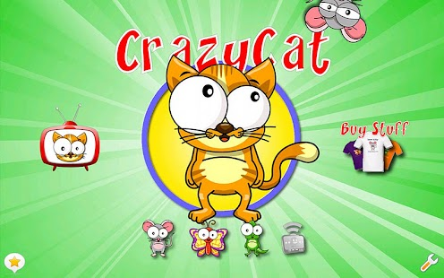CrazyCat HD - A Game for Cats!- screenshot thumbnail