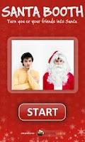 Screenshot of Santa Booth
