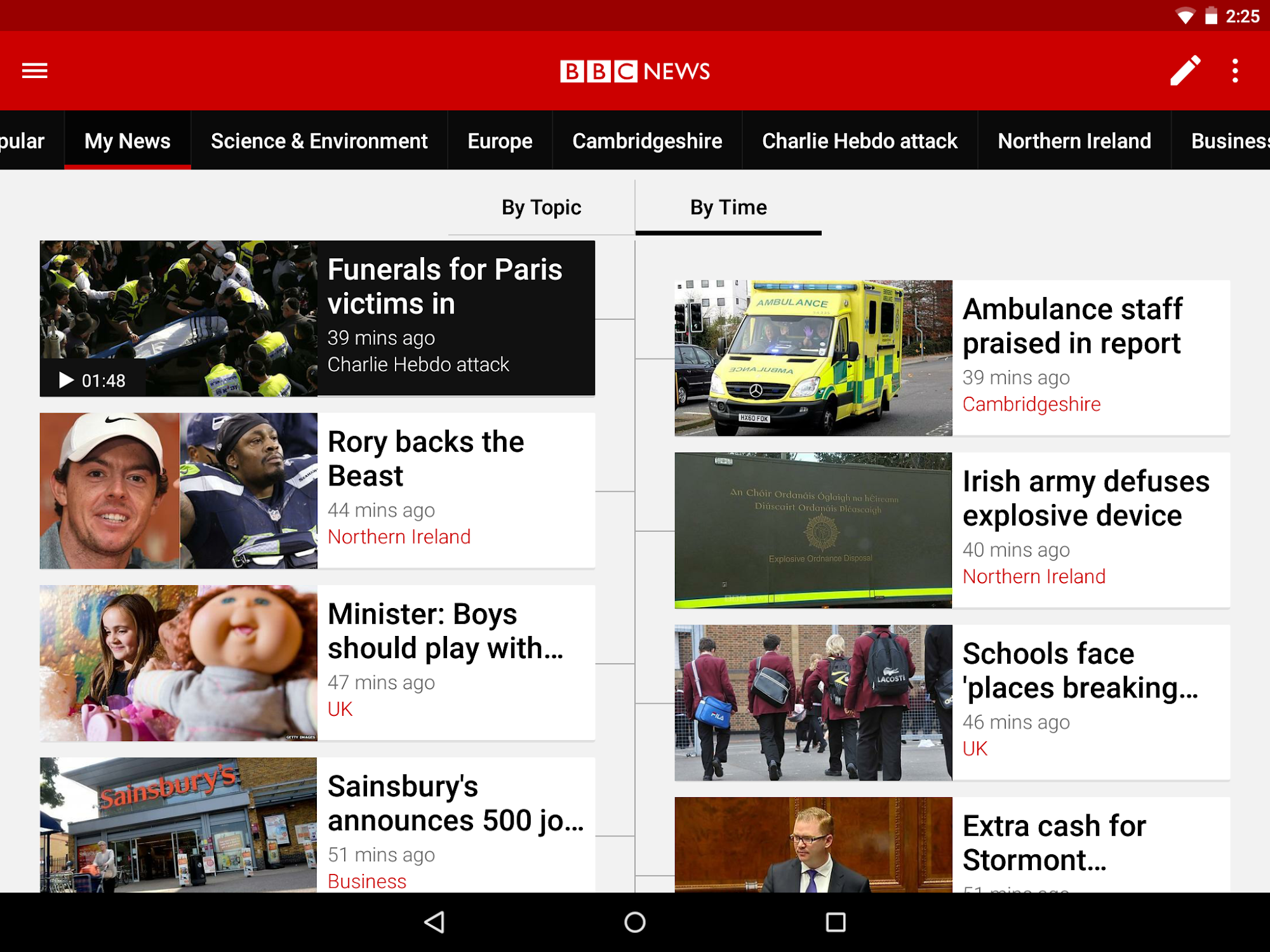 BBC News screenshot #8
