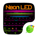 Neon LED GO Keyboard Theme icon