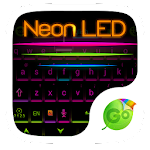 Neon LED GO Keyboard Theme 1.85.5.82 Apk