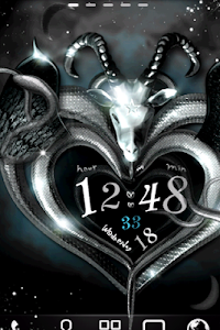 Baphomet Live Wallpaper screenshot 0