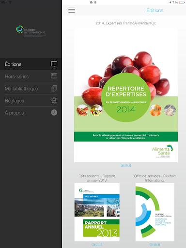 【免費書籍App】Québec International-APP點子