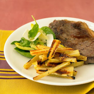 Sauteed Shell Steaks.