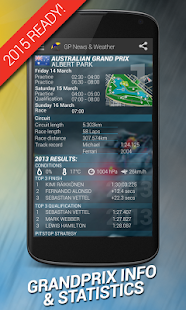 GP News & Weather - Formula- screenshot thumbnail