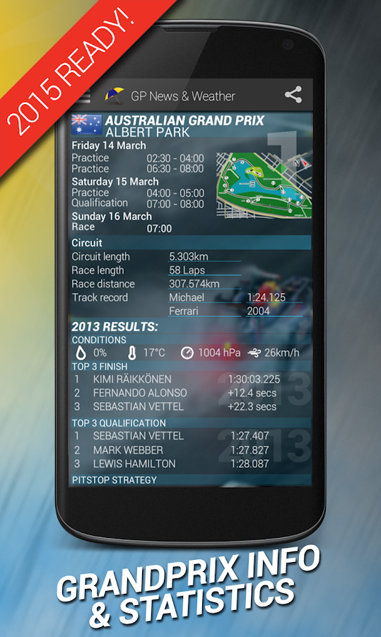 GP News & Weather - Formula- screenshot