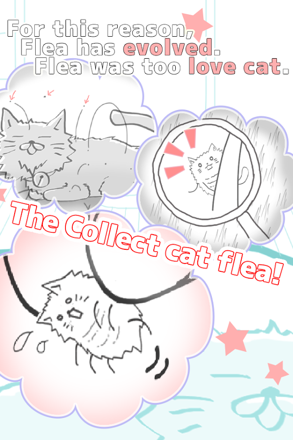 Cat flea collection - screenshot