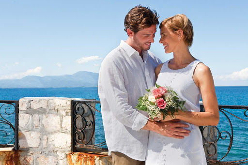 Liberty-of-the-Seas-wedding - Engaged couples can book a romantic Caribbean cruise on Liberty of the Seas and plan a wedding at sea or at a scenic beach location like Labadee, Haiti.