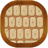 Wood Keyboard Go Theme