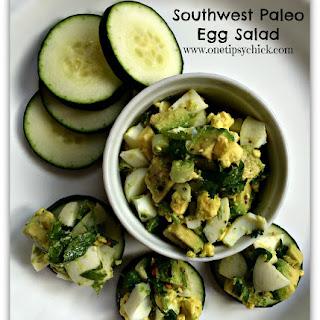 Southwest Paleo Egg Salad.