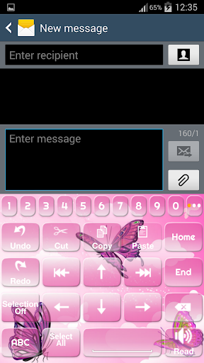 玩個人化App|一. 我. 键入粉红蝴蝶免費|APP試玩