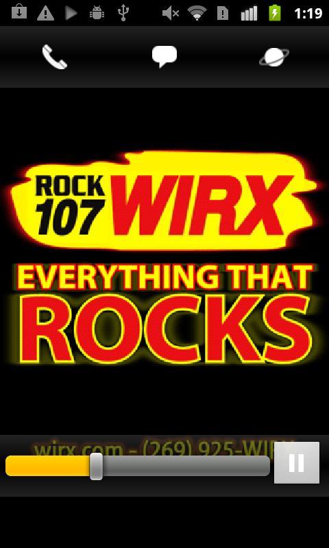 ROCK 107 WIRX- screenshot