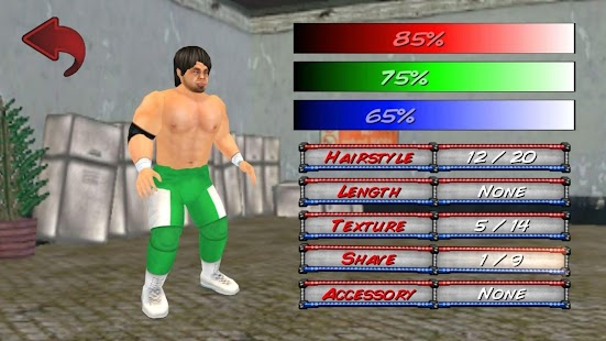 Wrestling Revolution 3D- screenshot thumbnail