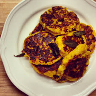 Jamie Oliver's Butternut Squash Fritters.