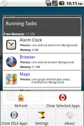 Activity Express Task Manager - screenshot