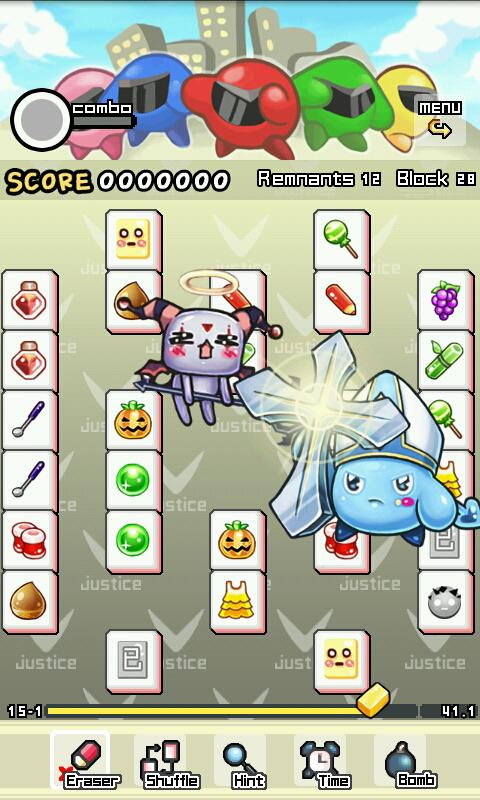Action Mahjong - screenshot