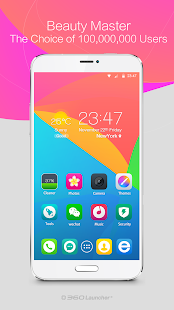 360 Launcher(Font,Wallpaper) – Vignette de la capture d'écran