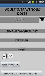 adult intravenous doses