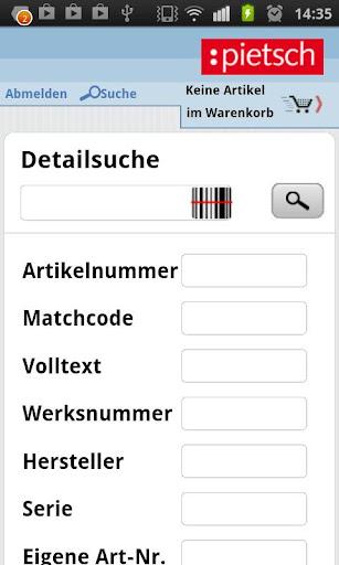 【免費商業App】Pietsch Online System-APP點子