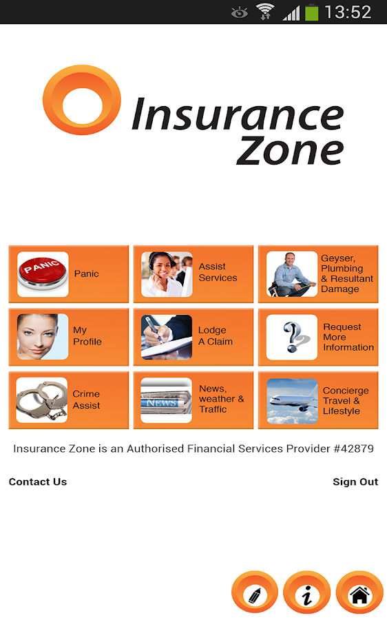 Insurance Zone - screenshot