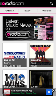 Radio.com - screenshot thumbnail