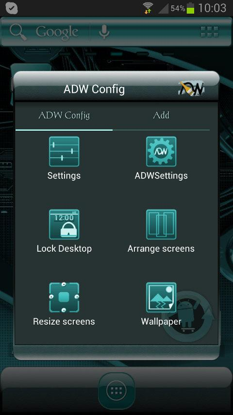 ADW Theme Cyanogen- screenshot