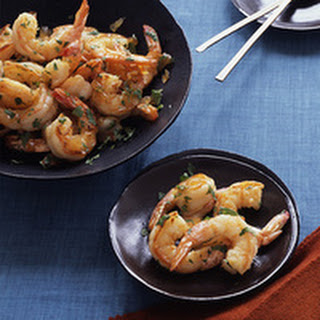Ginger-Glazed Shrimp.
