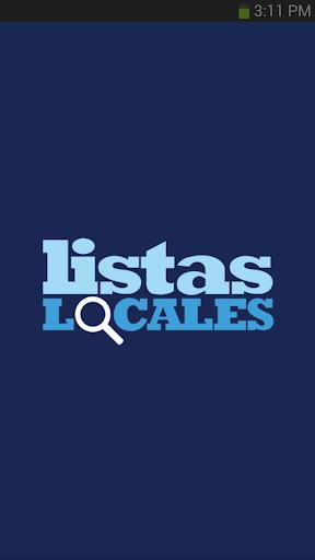 Listas Locales Local Search