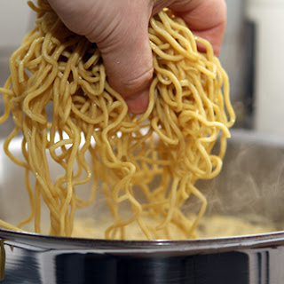 Cold Noodles with Peanut Sauce.