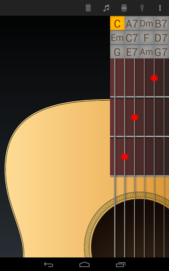 Jimi Guitar Lite - screenshot