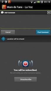 La Voz : Muro de Fans !! - screenshot thumbnail