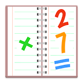 FREE Math Notebook Handwriting