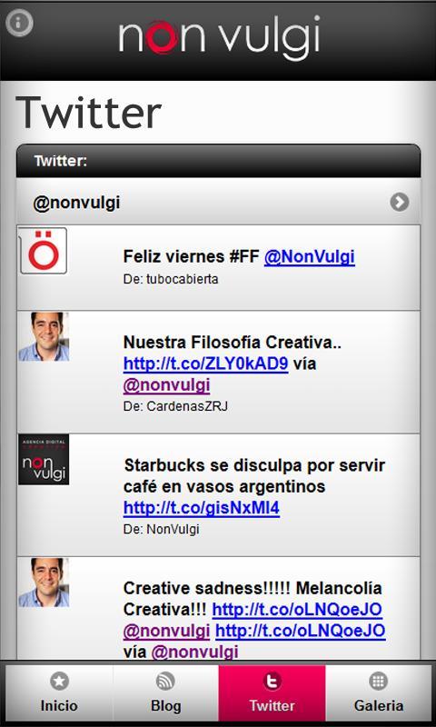 Non Vulgi - Digital Agency- screenshot