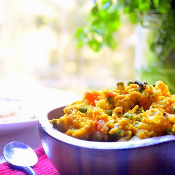 Egg Bhurji - Spiced-Up Scrambled Eggs Recipe