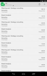 Invoice & Time Tracking - Zoho Screenshot 16