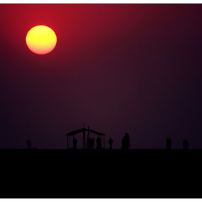 Dwellers by Mitrava Banerjee - Landscapes Sunsets & Sunrises (  )