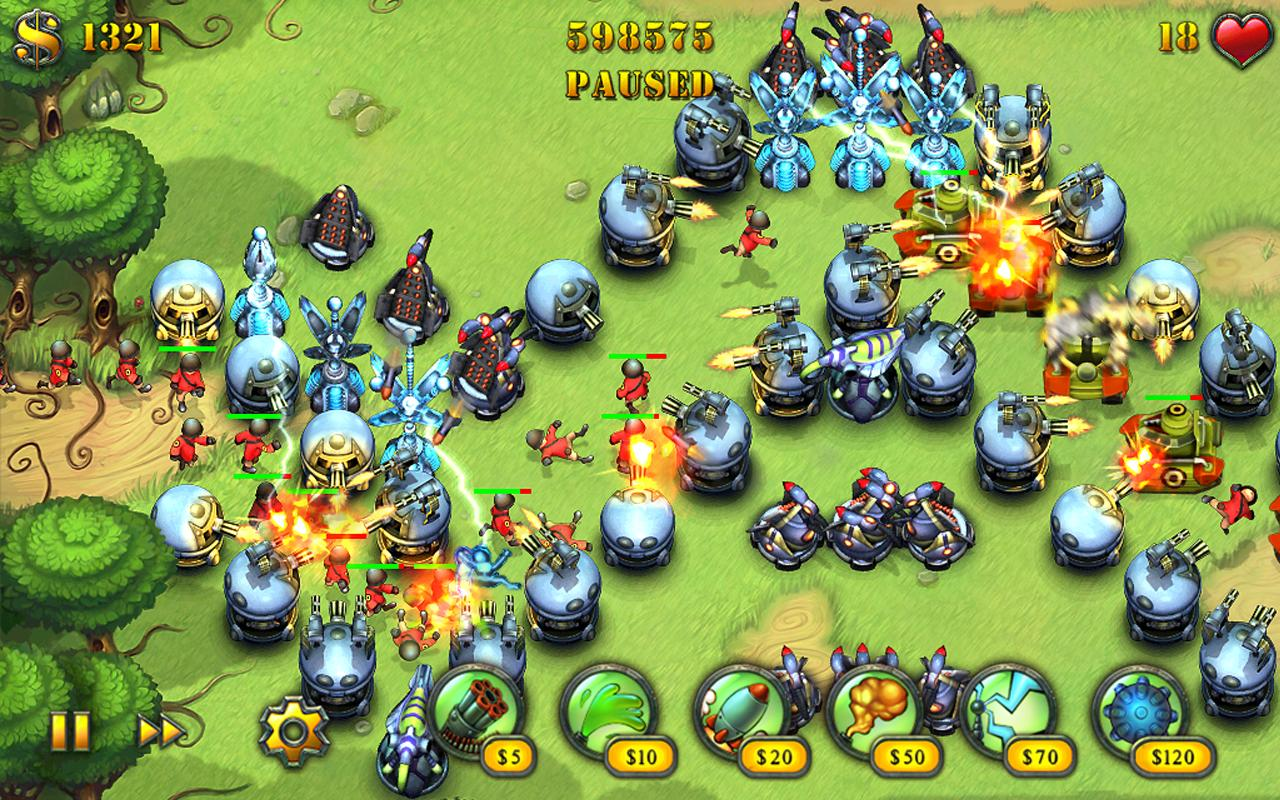 Fieldrunners HD - screenshot