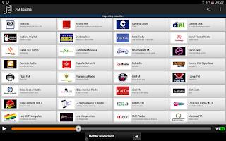 Screenshot of FM España