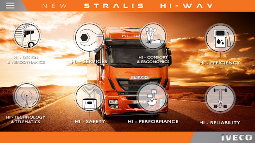 IVECO STRALIS HI-WAY phones