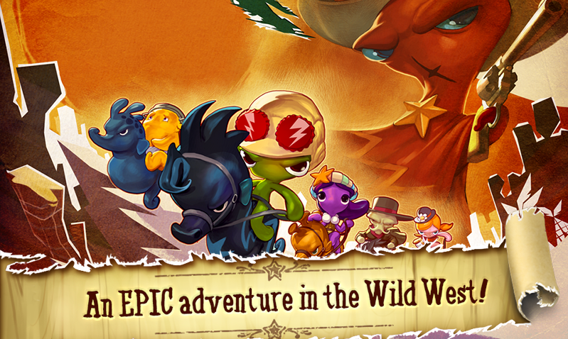 Squids Wild West HD - screenshot