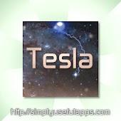Tesla Sparks w/RSS Reader LWP