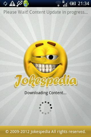 Jokespedia - Funny Jokes App- screenshot