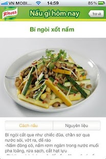Knorr - 100 Món Ngon - screenshot thumbnail