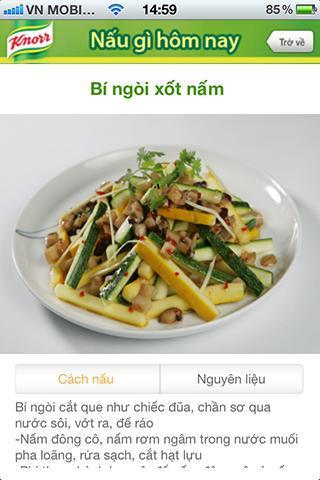 Knorr - 100 Món Ngon - screenshot