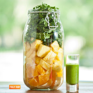 Sunshine in a Jar Green Smoothie