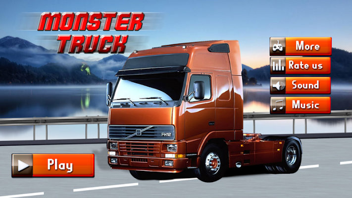 Monster Truck Stunts Racing - screenshot
