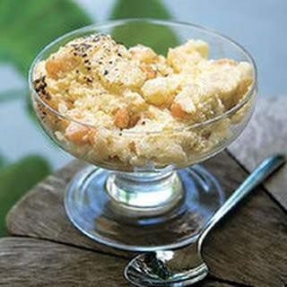 Rum-Raisin Rice Pudding.